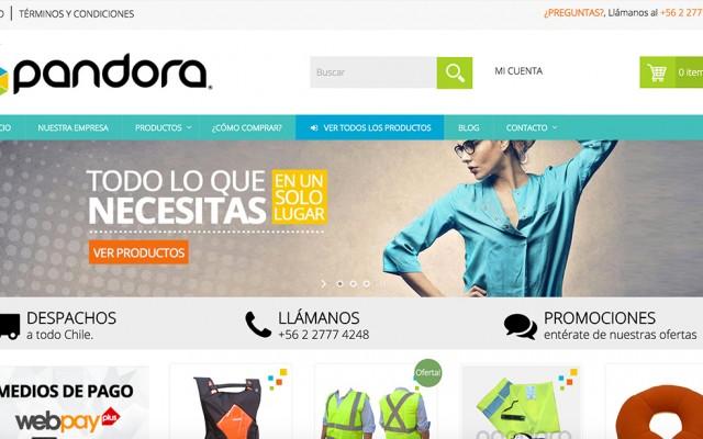 Miniatura sitio web pandora.cl